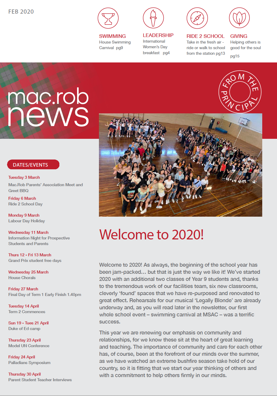 Mac Rob February 2020 Newsletter