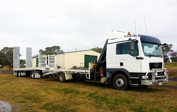 GG Sterling | Machinery transport and relocation