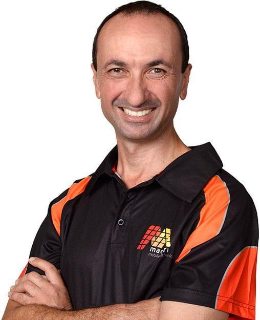 Paul Maceri, owner/operator of Maceri Mobile Mechanics