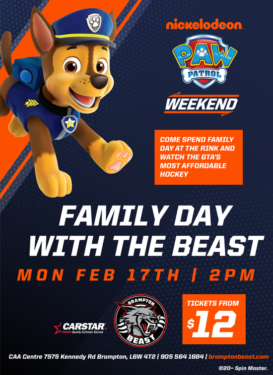 Brampton Beast family day celebrations