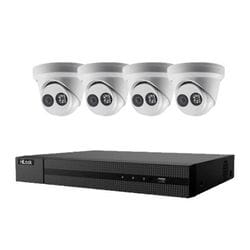 Hikvision Hilook 4 x 6MP Turret Kit with 4CH NVR