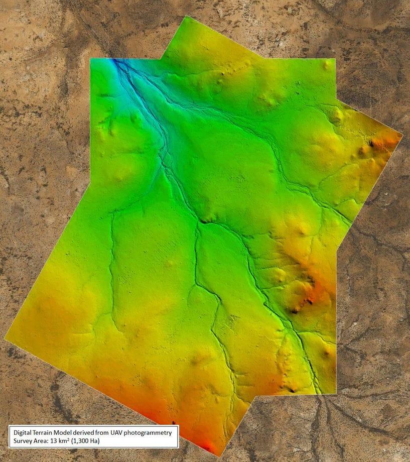 UAV Aerial Topographic Survey
