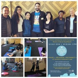 Southbank Yoga and Mindfulness Day kicks off year of connecting community