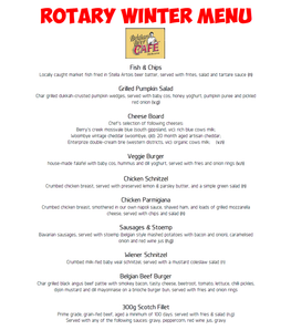 Share your #rotarymenu, win recognition for your club and your Rotary Venue