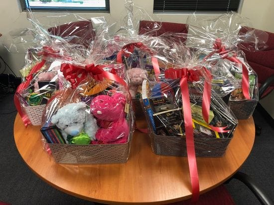 Hampers and Movie Tickets for Ray