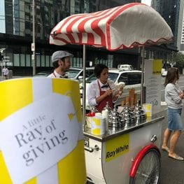 Southbank's launch of 'A Little Ray of Giving'