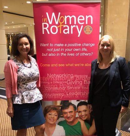 Women in Rotary Breakfast Report