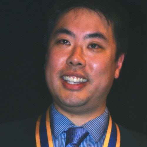 Clinton Wong, President Rotary Club of Southbank (2011-2012)