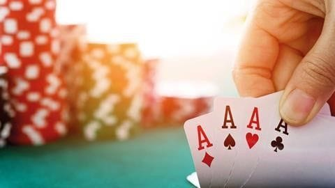 WHO IS HOLDING ALL THE ACES?