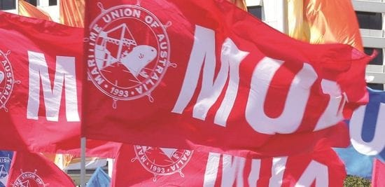 MUA PROTECTED INDUSTRIAL ACTION - PATRICK SYDNEY