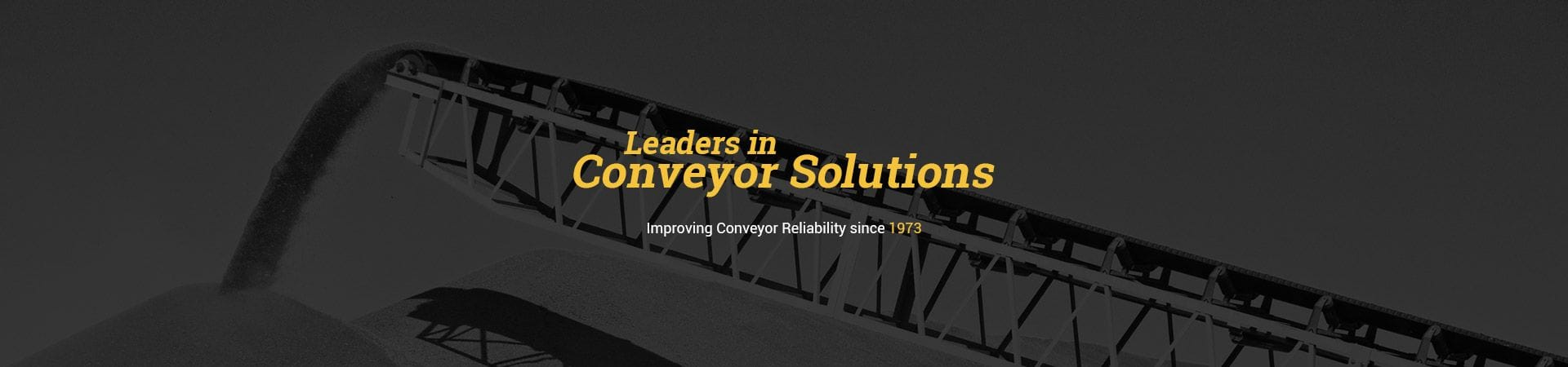 Reliable Conveyor Belt | Leaders in Conveyor Solutions | Improving Conveyor Reliability since 1973