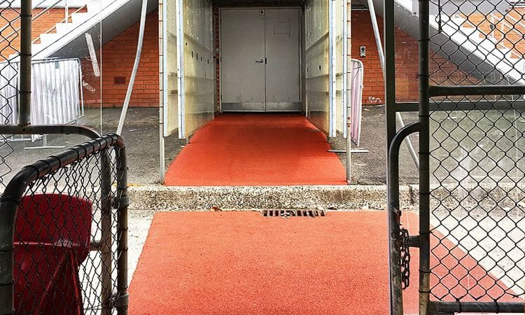 Rubber Wetpour Walkway | Brookvale Oval | Synthetic Grass and Rubber