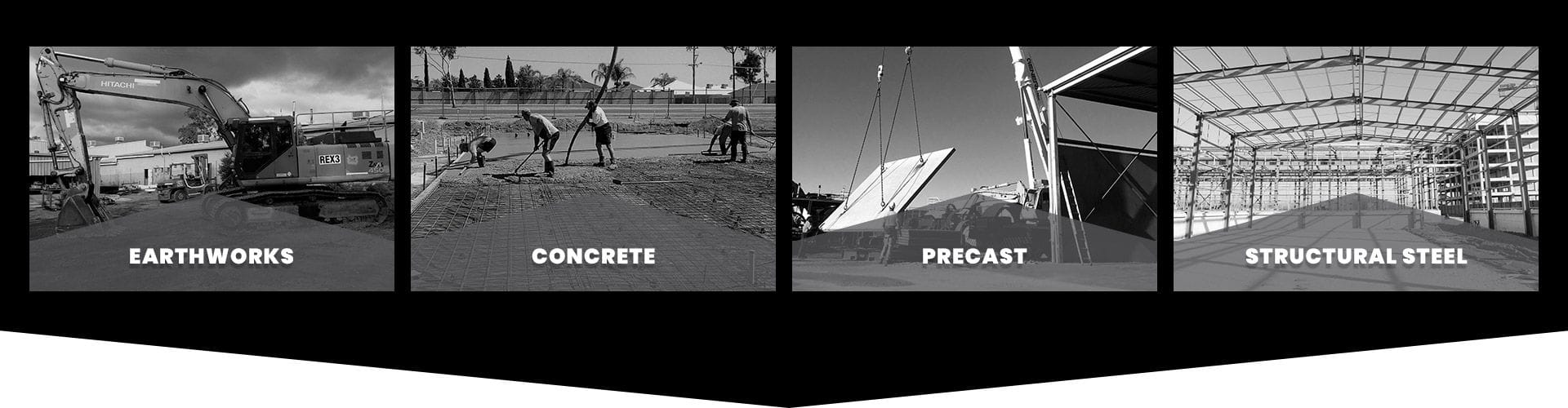Robust Contracting provides earthworks, concrete, precast, structural steel and transport services