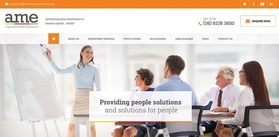 New Website launched for AME Recruitment