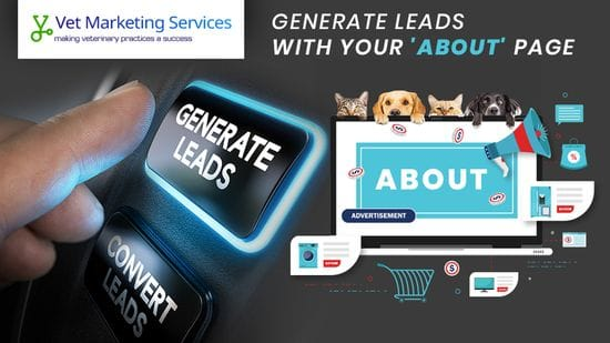 "Create an ""about"" page that generates leads"