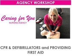 WORKSHOP -> PROVIDE FIRST AID (HLTAID003)