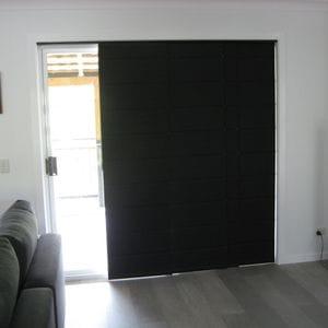 Black Panel Glide - Back Battens