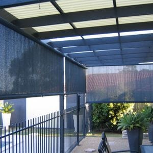 Spring Roller Blinds with Bungee Loops