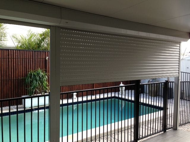 Browse outdoor roller shutters available from U-Select Blinds on the Gold Coast