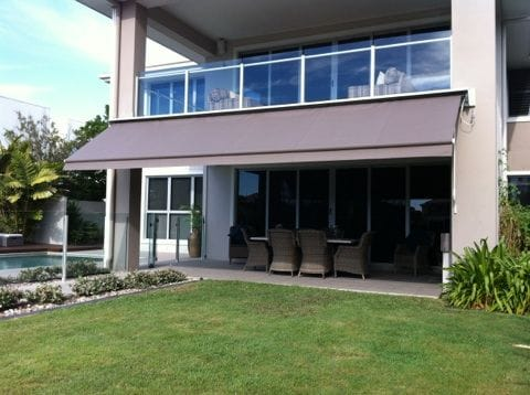 Folding Arm Awnings | Outdoor blinds, outdoor awnings on the Gold Coast