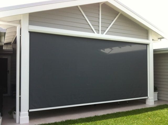 Browse our gallery of ziptrak outoor blinds on the Gold Coast