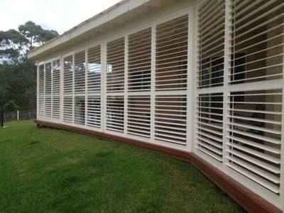 Exterior Shutters on the Gold Coast