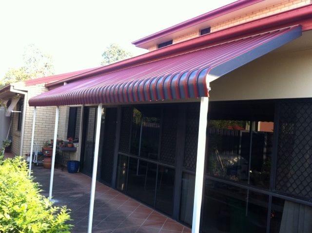 Aluminium awnings on the Gold Coast