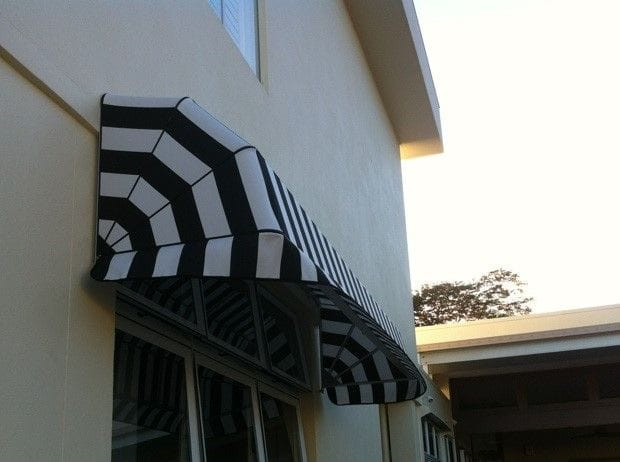 Outdoor food and framed awnings on the Gold Coast