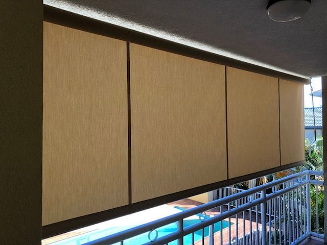 Outdoor patio blinds   Gold Coast blinds and awnings