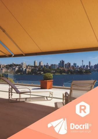 Docril Fabric Brochure | Folding arm awnings on the Gold Coast