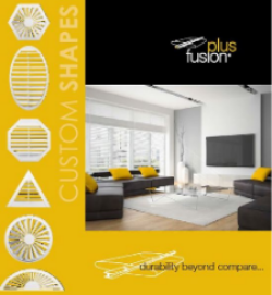 Fusion Plus Brochure | Interior Shutters Gold Coast