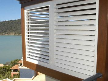 Aluminium shutters on the Gold Coast