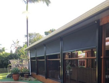 e-Zip Track System | External blinds, outdoor awnings on the Gold Coast