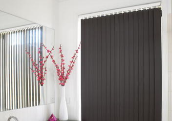 Vertical drapes | Interior blinds on the Gold Coast