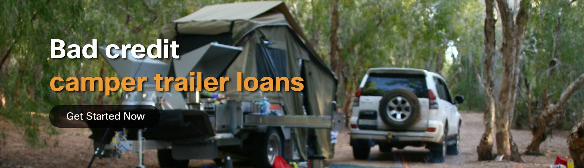 Bad Credit camper trailer loans