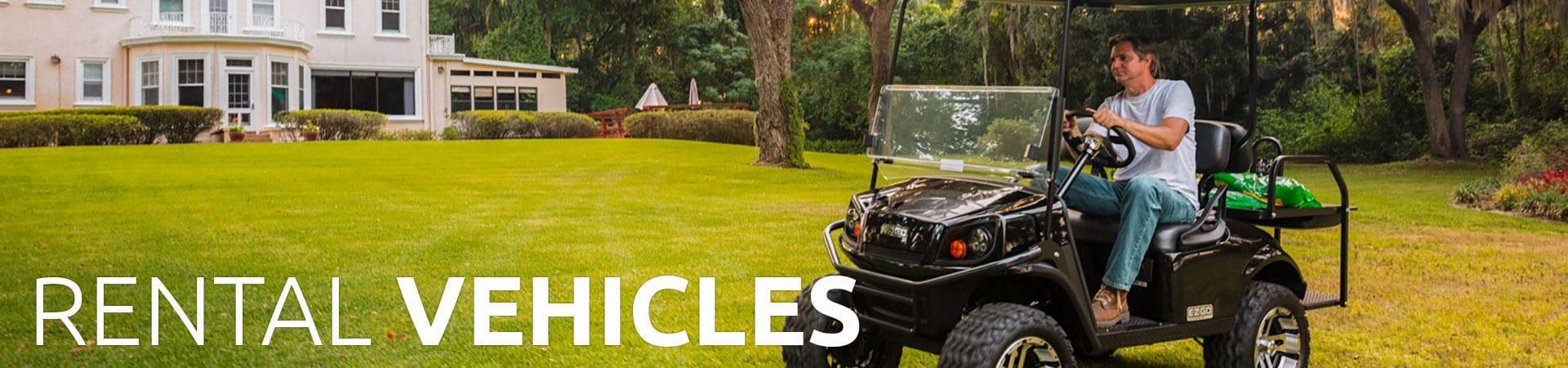 Rental Vehicles | Golf Car World