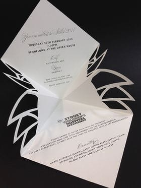 The Silver Invite A Sydney Children's Hospital Foundation's Signature Event