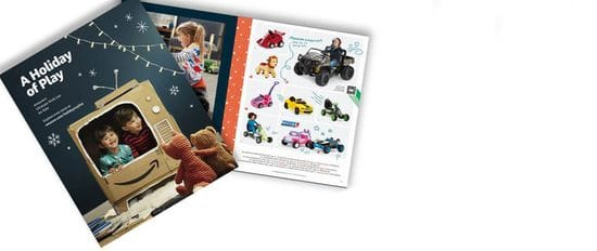 Amazon Release Their First Ever Printed Catalogue