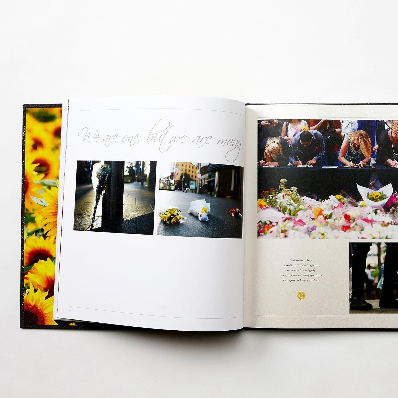 Katrina & Tori Remembrance Books | Print & Design Case Study | Digitalpress