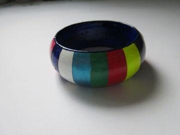 Multi Coloured Stripe - Wide
