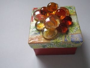 Square Floral Box