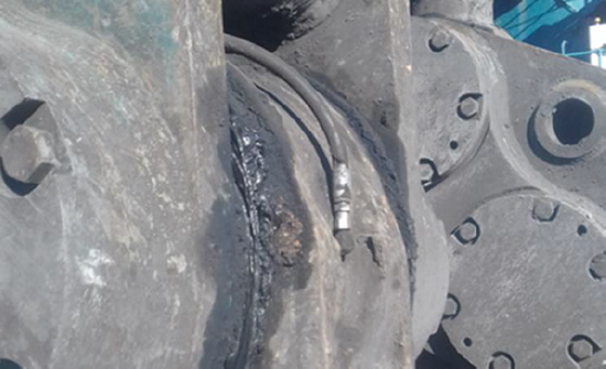 FAQ - Time lost due to lubrication failure in excavators