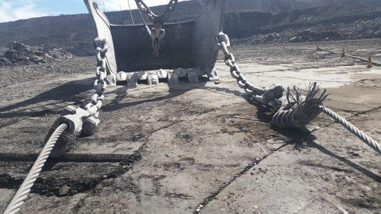 Dragline Rigging Repairs -1
