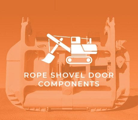 ROPE SHOVEL DOOR COMPONENTS