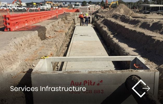 Services Infrastructure | Crib Civil