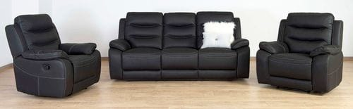 Springfield 3 Seater Reclining Lounge Suite Main