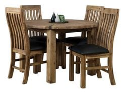 Sterling 5 Piece Round Dining Suite