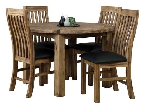 Sterling 5 Piece Round Dining Suite Main