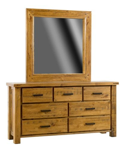Woolshed Dresser and Mirror Main