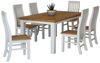 Hamptons 7 Piece Dining Suite 1800 Table Thumbnail Main